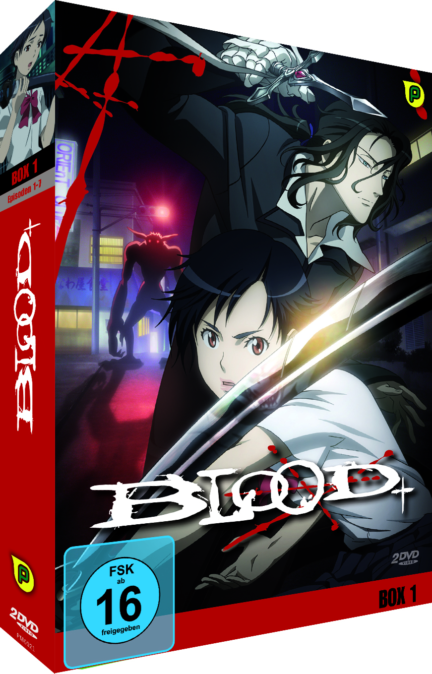Blood+ Box Vol. 1 (DVD)