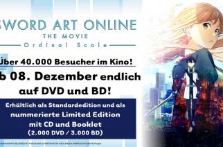 SAO – Ordinal Scale ab 08. Dezember auf DVD und BD!
