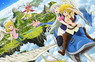 The Seven Deadly Sins: Prisoners of the Sky – Kinostart