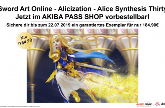 Sword Art Online – Alicization – Alice Synthesis Thirty (Aniplex+) – Jetzt vorbestellbar!