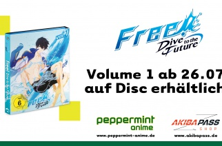 Free! Dive to the Future – Vol. 1 – Cover enthüllt