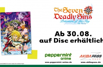 The Seven Deadly Sins – Prisoners Of The Sky – Ab 30.08. auf Disc!
