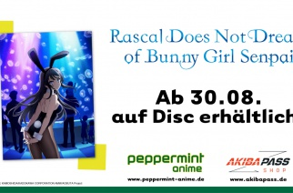 Rascal Does Not Dream Of Bunny Girl Senpai – Vol. 1 – Ab 30.08. auf Disc!