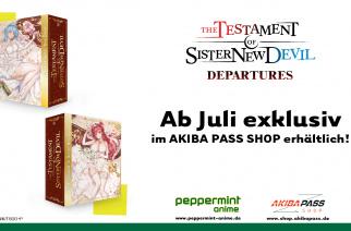 The Testament of Sister New Devil – Departures – BD Sammelschuber – Jetzt vorbestellbar!