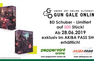 Sword Art Online Alternative – Gun Gale Online – BD Sammelschuber – Jetzt vorbestellbar!