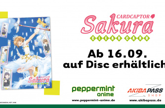 Card Captor Sakura – Clear Card Arc – Ab 16.09. auf Disc!