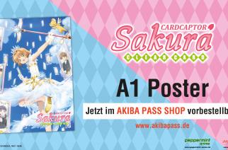 Cardcaptor Sakura – Clear Card Arc – Poster – Jetzt vorbestellbar!