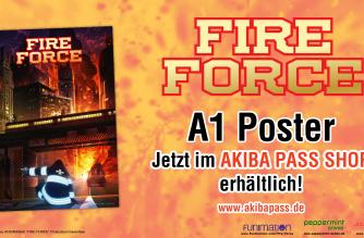 Fire Force – Poster – Jetzt erhältlich!