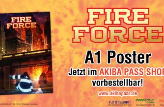 Fire Force – Poster – Jetzt vorbestellbar!