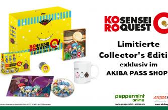 Koro-sensei Quest – Collector's Box – Ab 12. Juli lieferbar!